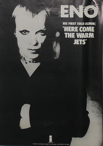"Eno S Tarots: Album Of The Month: Brian Eno's ""Here Come The Warm Jets"